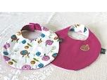 赤ちゃんのスタイも手縫いでちくちく