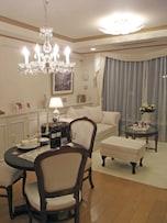 クラシックな雰囲気漂うマンションのインテリアスタイル