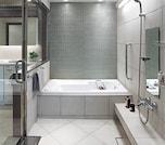ホテルみたいな浴室にしたい