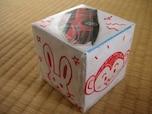 牛乳パックで作るおもちゃのサイコロ