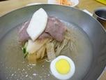 韓国一有名なお店の冷麺
