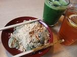 プルプル食感が人気!京都 洛匠の「草わらび餅」