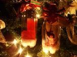 ペットボトルで作るクリスマスオーナメント