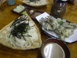 舞茸の天ぷらといっしょに注文するのが群馬流