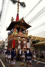 祇園祭の様子