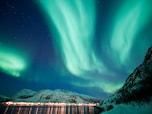 美しいオーロラ/ノルウェー・トロムソ