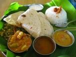 【インド】お腹いっぱい食べられるミールス