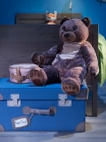 絵になるIKEAのおもちゃ収納