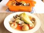 春野菜と魚介たっぷりのヘルシーポトフ