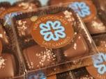 全米一のチョコショップのいちおし!塩キャラチョコ