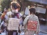 着物で京都を散策!