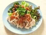 梅ダレの豚しゃぶサラダ