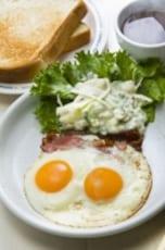 こんなフツーの朝食にも結構な量の塩分が含まれている!