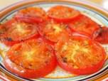 クミンの香りが名脇役 トマトのステーキ