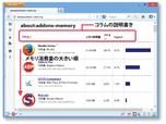 Firefoxを重くしているアドオンを見つける方法