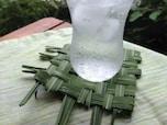 夏限定!?夏草で編むナチュラルコースター