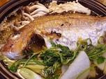 ダシが絶品! 簡単で豪華な鯛の姿焼き鍋