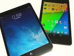 iPad miniとNexus 7を比較してみた