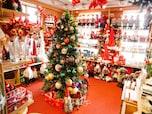 1年中クリスマスの北欧雑貨店