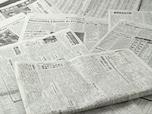 濡らした新聞で汚れ取り。ついでに曇りどめ効果も!