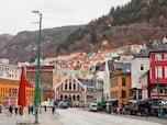 フィヨルド観光で人気!かわいい街並みを見ながら旅を楽しもう