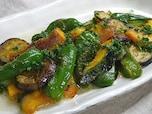焼き野菜のサラダガーリック風味