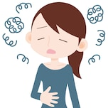 「機能性ディスペプシア」による胃痛も……