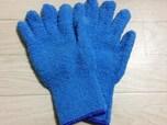 あらゆる磨き系掃除に対応するマイクロファイバーお掃除手袋