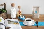 お気に入りのカフェの「オリジナルのカップ&ソーサー」