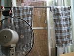 部屋干しを短時間で乾かすには扇風機を利用