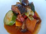 40代は夏野菜トマト煮で中から紫外線ダメージケア