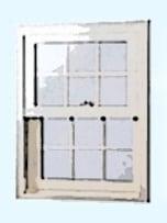 """輸入住宅らしいデザインの""""窓"""""""