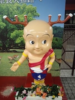 奈良の観光地で社会科を勉強する