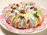 特別感のあるデザートならこれ! デコレーション焼きドーナツ