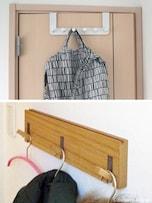 ドアや壁にチョイ掛けを設置