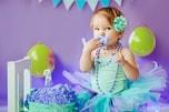 1歳誕生日の新定番「スマッシュケーキ」で自由に食べさせて!