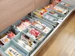 システムキッチンの引き出しを、100均アイテムだけで整理・収納!