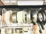 鍋・フライパンの収納アイデアと使いやすいキッチンになる収納のコツ