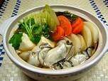 ダイエット野菜たっぷりの「牡蠣鍋」