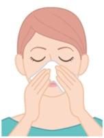 肌トラブルを防ぐエレガントな鼻のかみかた