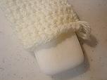 石鹸が入るアクリルたわしの編み方