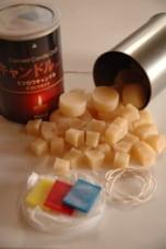 4.甘い香りに癒されるエコな蜜蝋のキャンドル