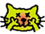 猫もなる!「花粉症」