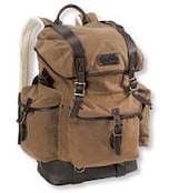Waxed Cotton Continental Rucksack