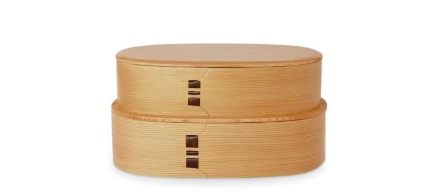 Odate Bentwood Lunchboxes
