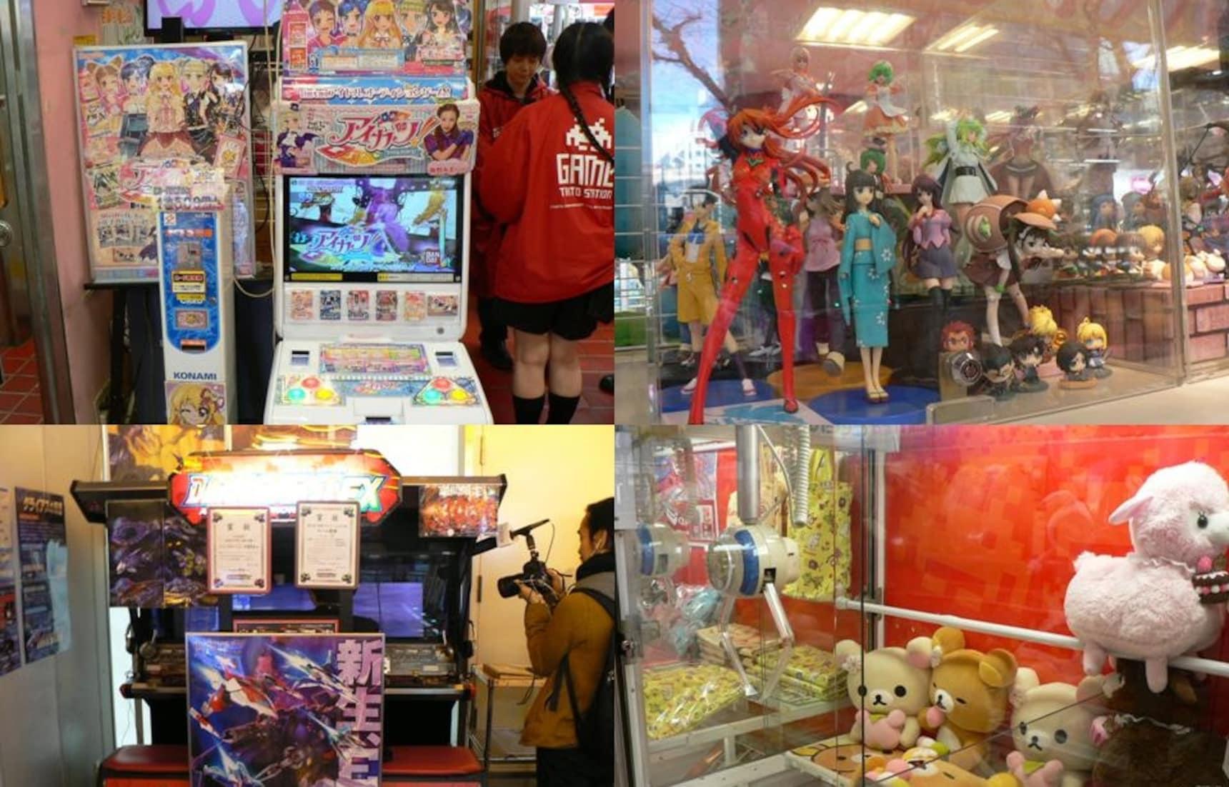 日本游戏厅初体验,TAITO STATION秋叶原店欢乐游