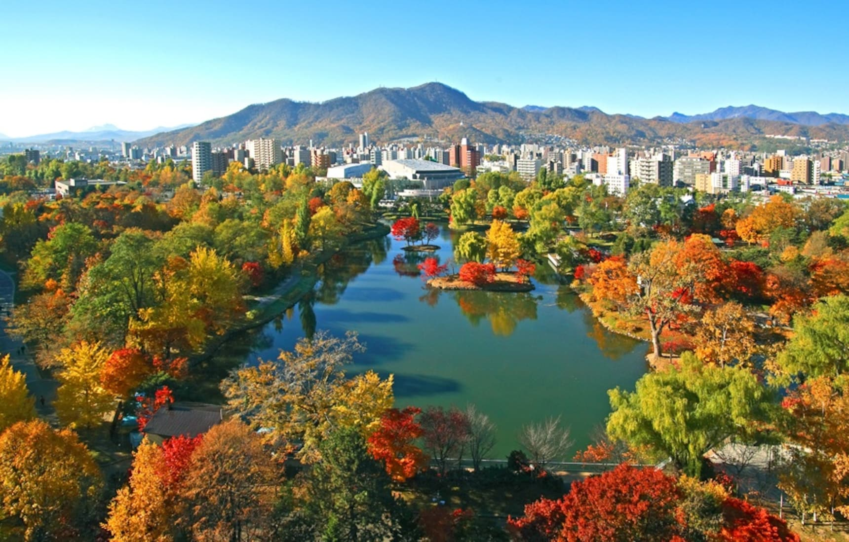 Explore Sapporo's Fall Color Spots by Subway