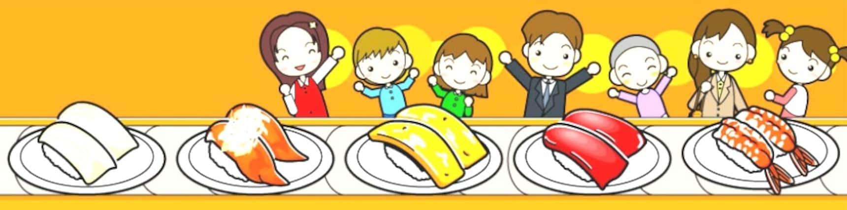 文字直播中:日本迴轉壽司之旅