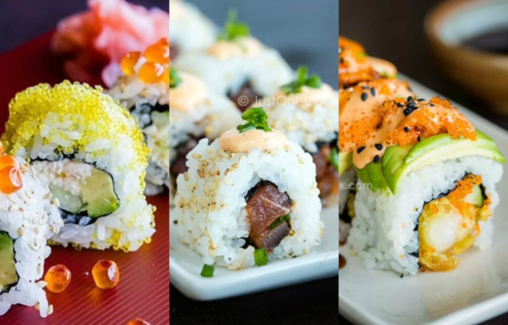 Just One Cookbook's 3 Best Sushi Roll Recipes