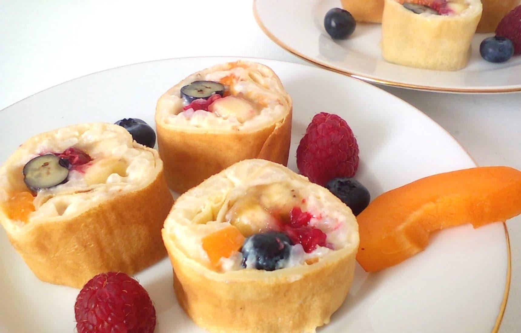 Make a French 'Sushi' Dessert!